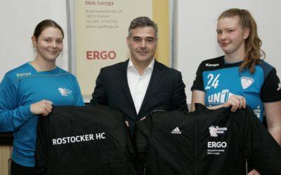 Ergo-Versicherung bleibt Rostocker HC treu