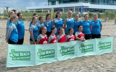 C-Jugend und Dolphins präsentieren Beachhandball