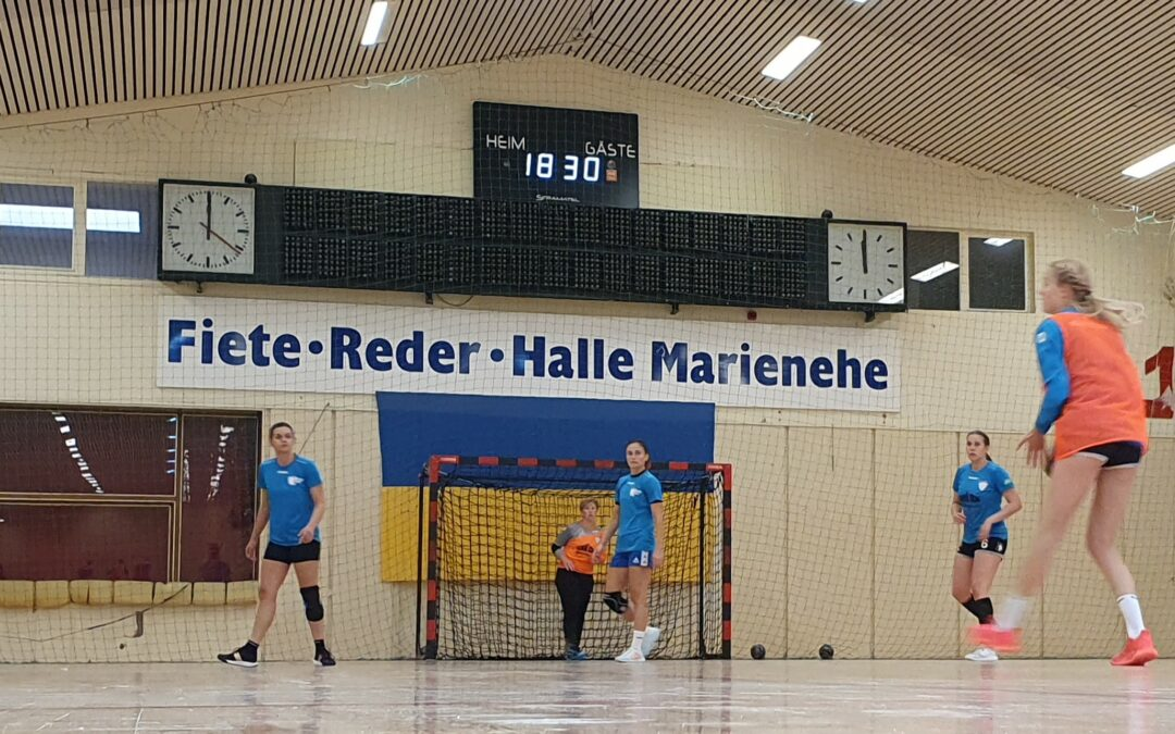Höhepunkt: Spitzenspiel Dolphins gegen Thüringer HC II