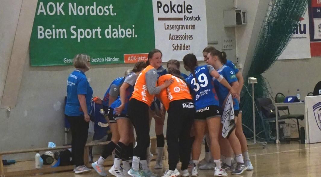 Rostocker Frauen wollen Heimsieg