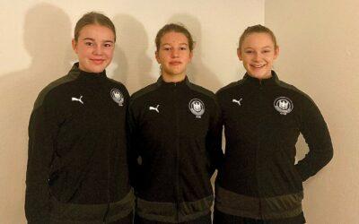 RHC-Mädchen gewinnen mit U-16-Auswahl erstes Länderspiel